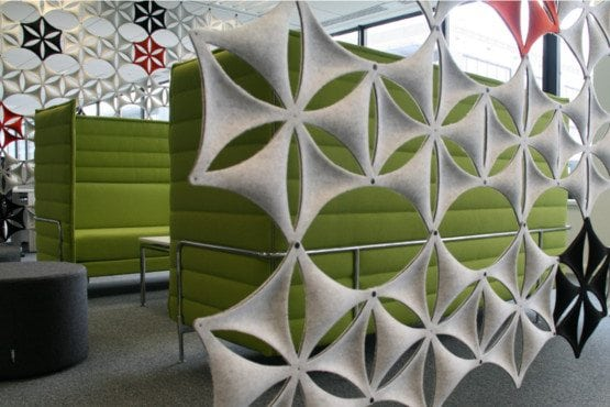 Akustinis modulis Airflake Abstracta Bjarnum baldai