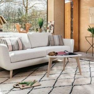 Interjero datale kilimas Maroco - sofa- smile-Furninova bjarnumbaldai