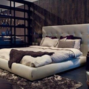 Miegamojo lova Blanc Furninova bjarnum baldai
