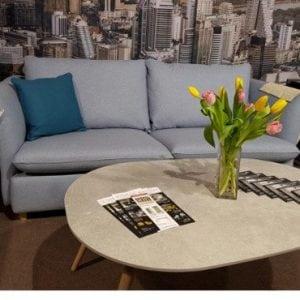Minksti baldai sofa Chantal Furninova bjarnumbaldai