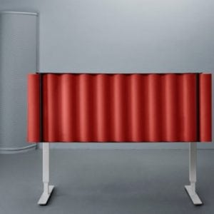 SCALA pastatoma akustinė pertvara Abstracta bjarnumbaldai