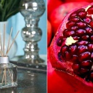 Kvapu difuzorius su lazdelemis Pomegranate Greenleaf bjarnumbaldai